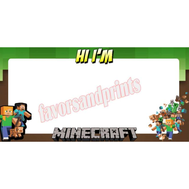 Minecraft name tag