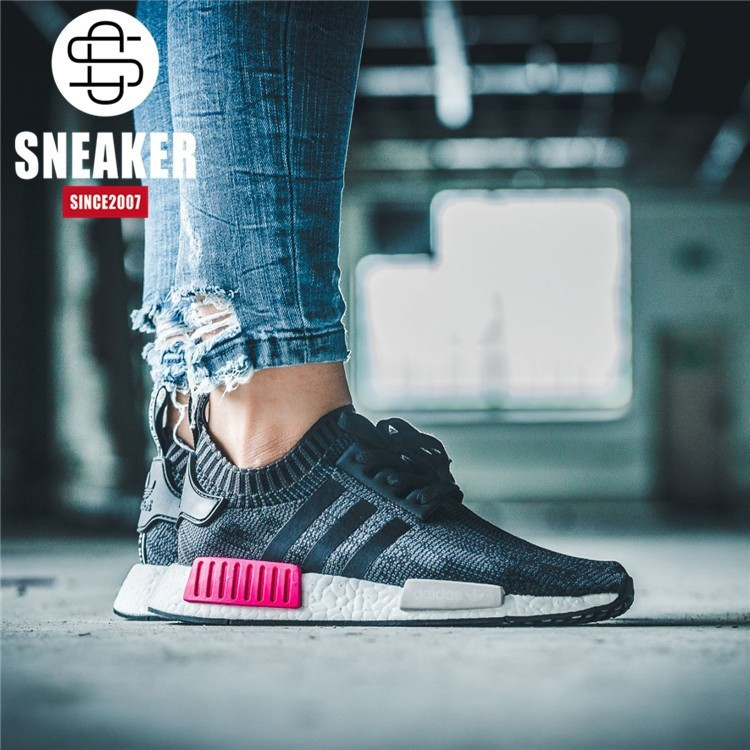 e611b4214 SLK Original ☆ Genuine Certification Adidas NMD R1 PK Men Boots ...