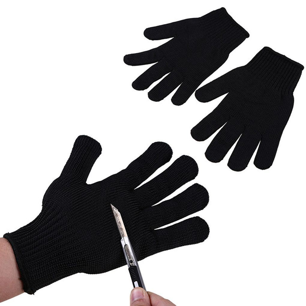 Workplace Safety Supplies 1pc Anti-cut Gloves Safety Cut Proof Stab Resistant Stainless Steel Wire Metal Mesh Butcher Cut-resistant Safety Gloves Top Watermelons