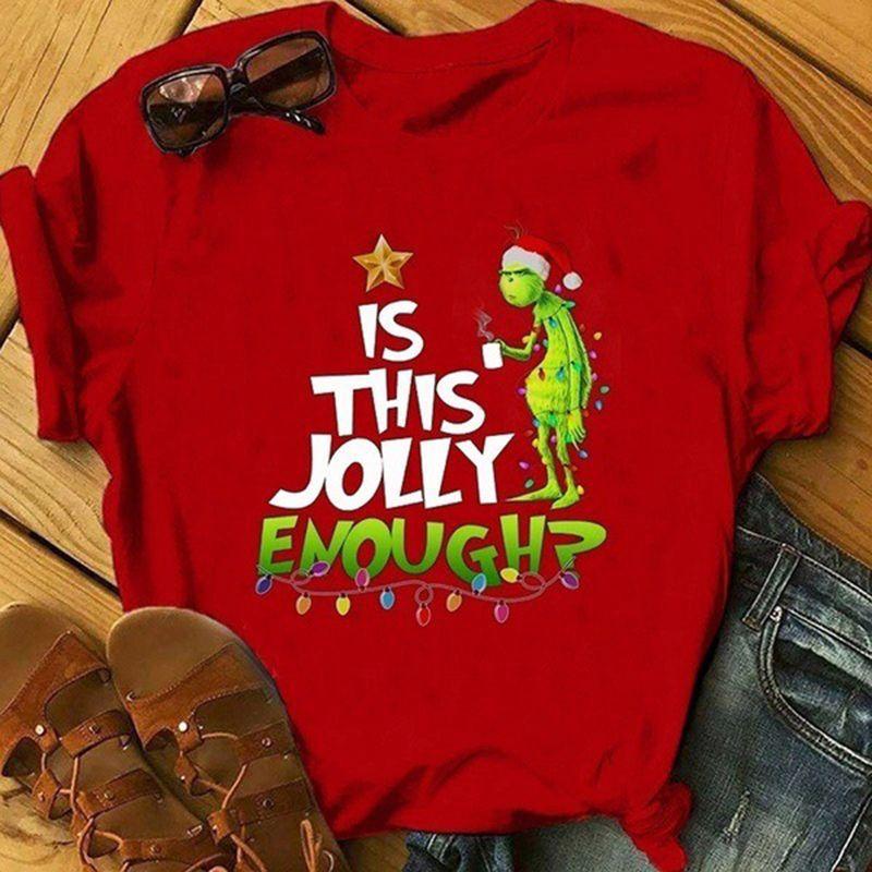 Funny Is This Jolly Enough? 2  Tshirt Unisex /& Kids Stitch Cartoon Cute