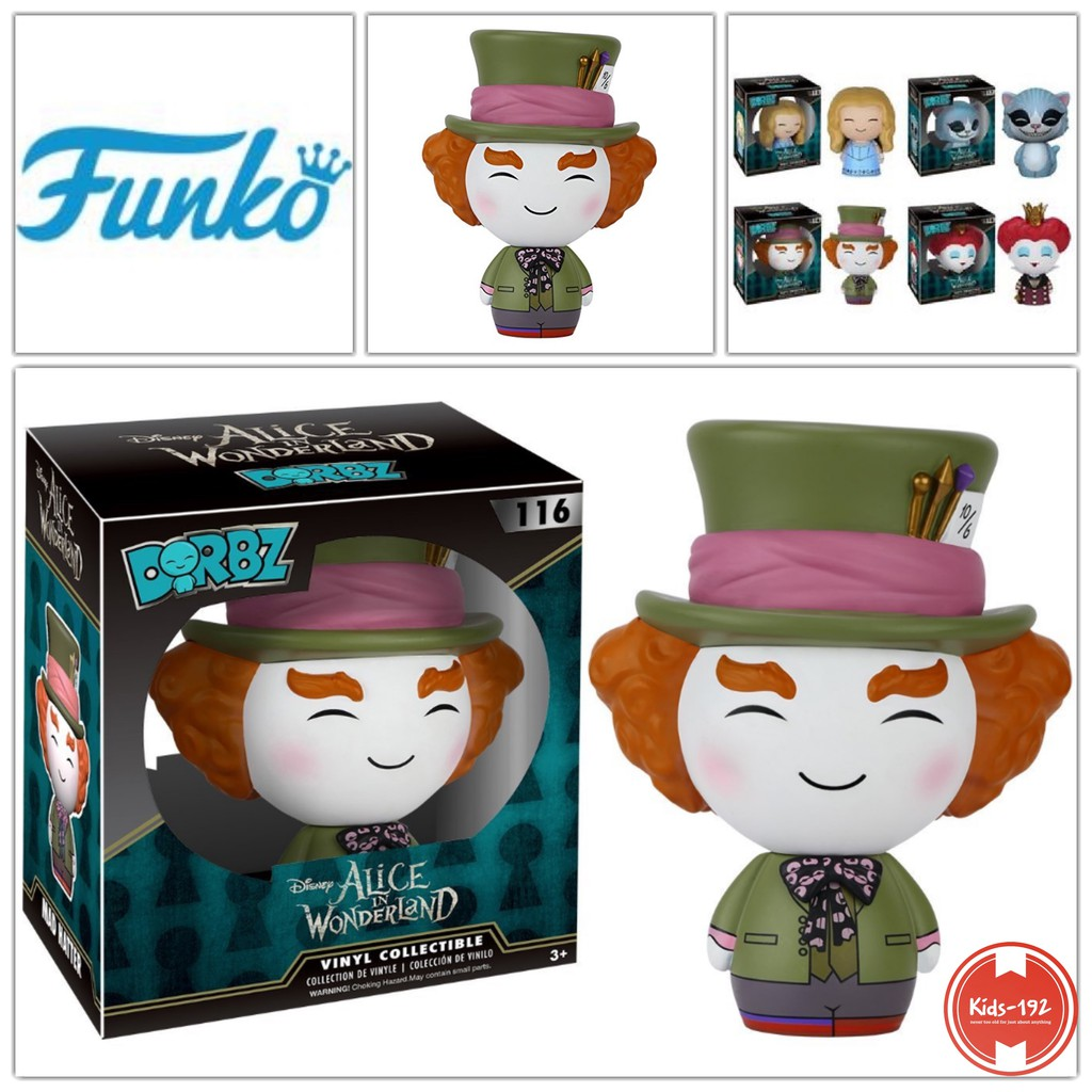 Funko Disney Alice In Wonderland Dorbz Mad Hatter Live Action Vinyl Figure NEW