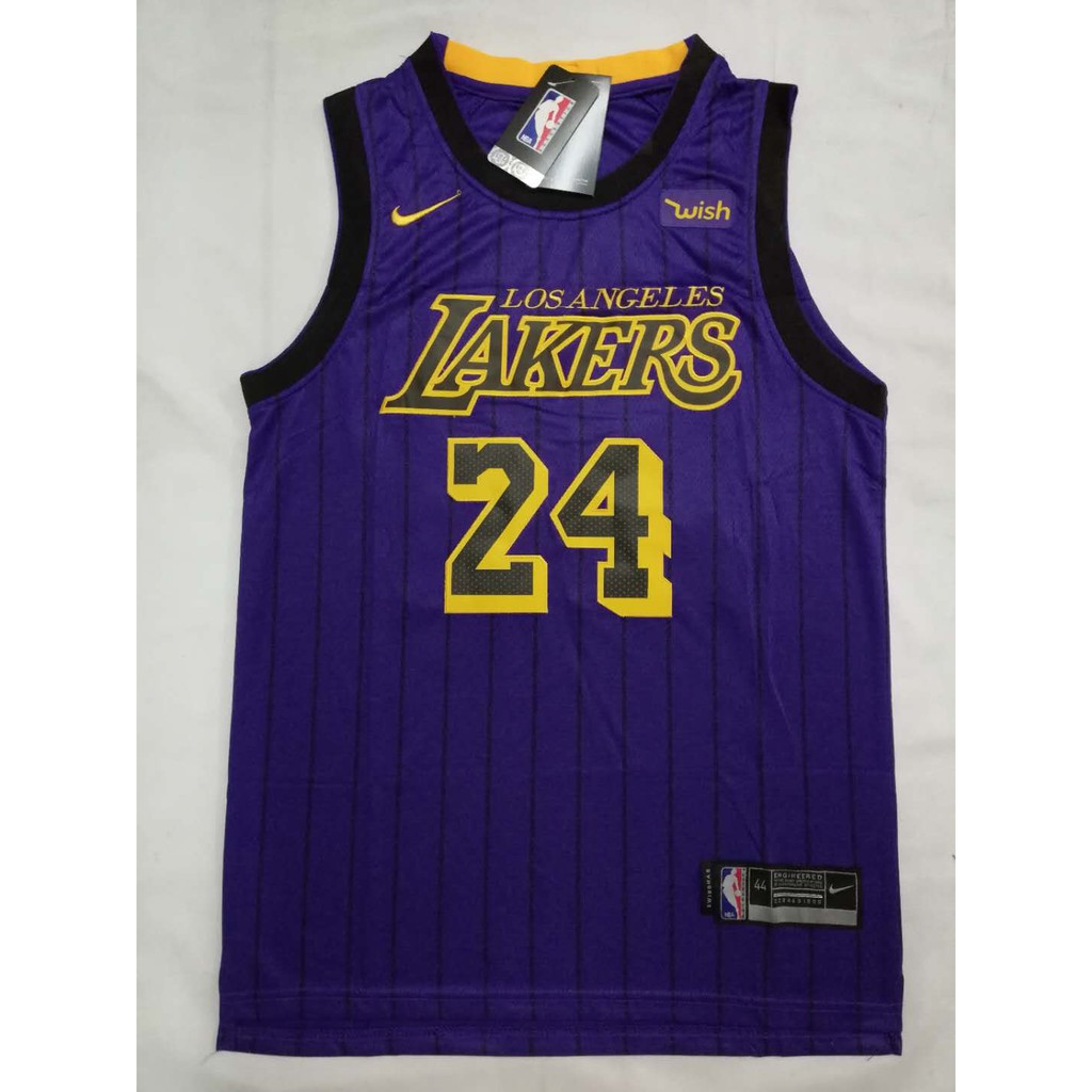 ec696c16f19 NBA Lakers 24 Kobe Bryant Retirement Memorial Jersey | Shopee Philippines