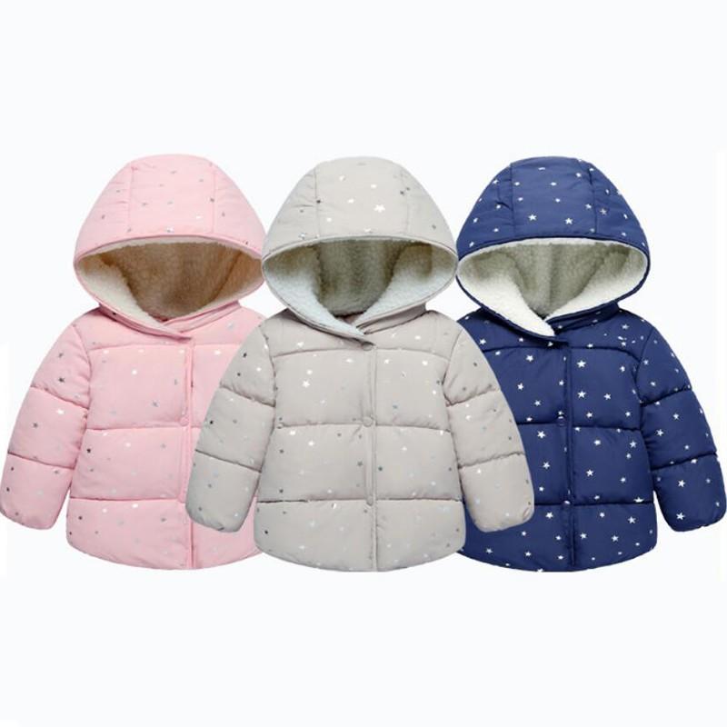 3fc255b0a Baby Rabbit Ears Hooded Girls Spring Autumn Jacket Coat Warm ...