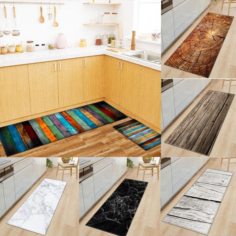 Plank Retro Kitchen Long Mat Absorbent Non Slip Kitchen Rug Entrance Door Mats Bathroom Doormats Carpet Doormat Rugs Kitchen Mats Bathroom Carpets Shopee Philippines
