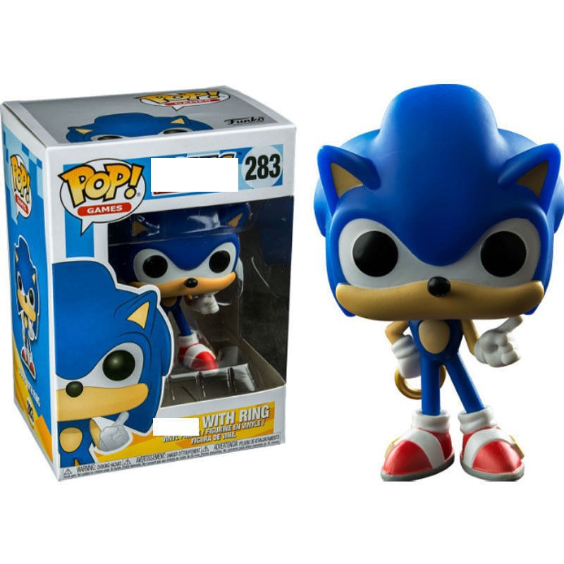 Funko Pop Sonic The Hedgehog Vinyl Figure New With Box Sonic With Ring Shopee Philippines