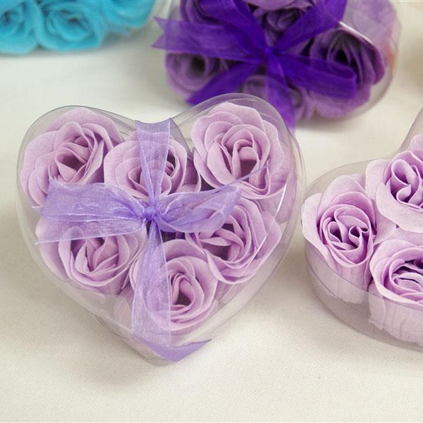 10 Packs Lavender Rose Soap Petals