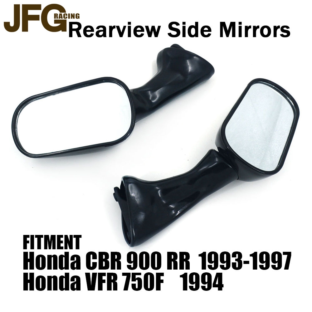 Motorcycle Rear Side Rearview Mirrors for Honda VFR750F 1994 CBR900RR 1993-1997