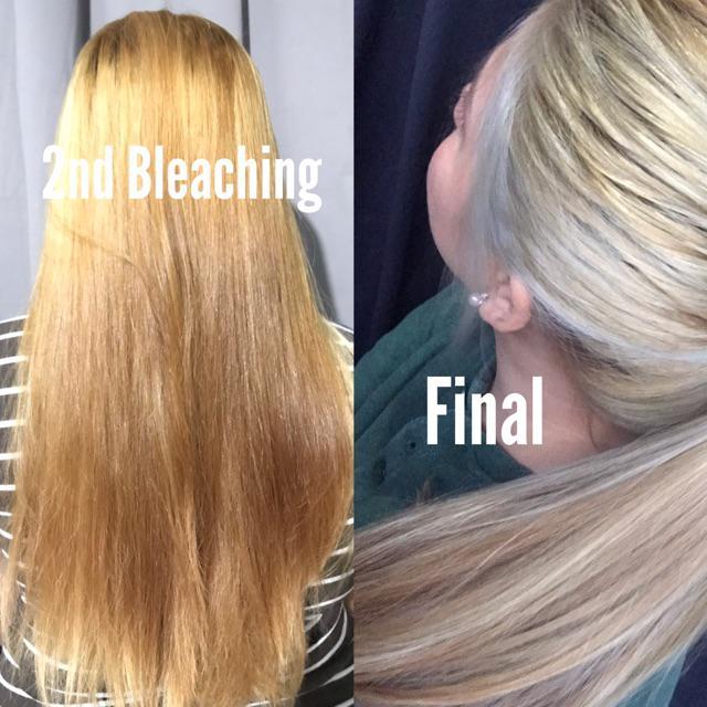 Metallic Grey Hair Color