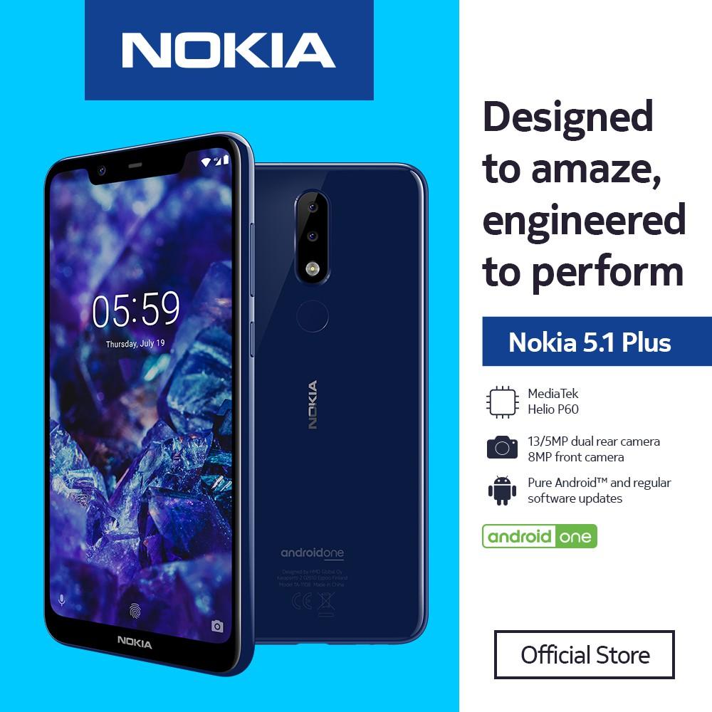 Nokia 5 1 Plus With Free Mobile Gamepad