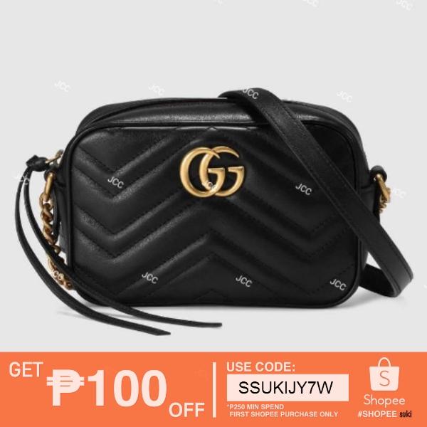 ad8074b1963a JCC Gucci GG Marmont matelassé mini bag authentic bestseller | Shopee  Philippines