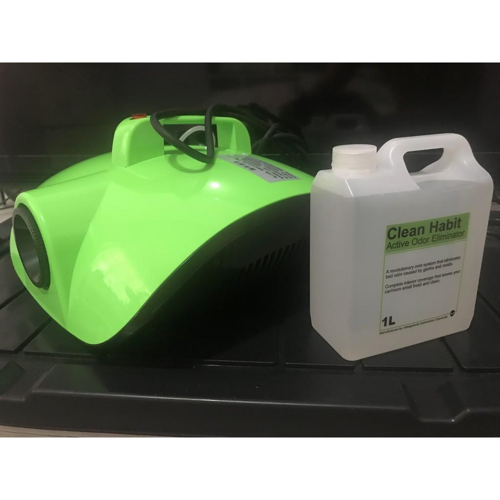 Active odor eliminator machine bac to zero