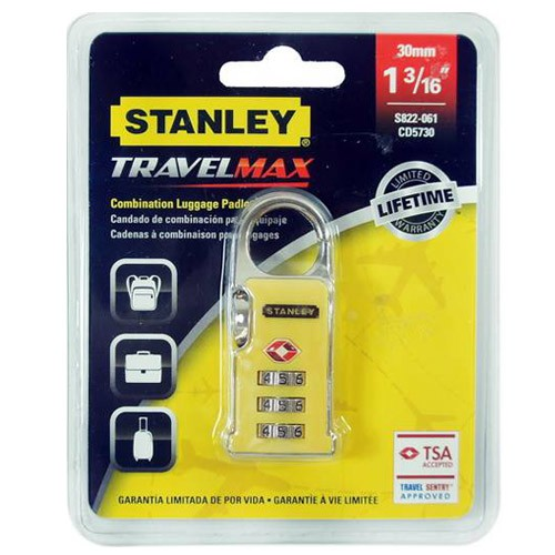 Stanley Travel Max Luggage Lock #S822-057