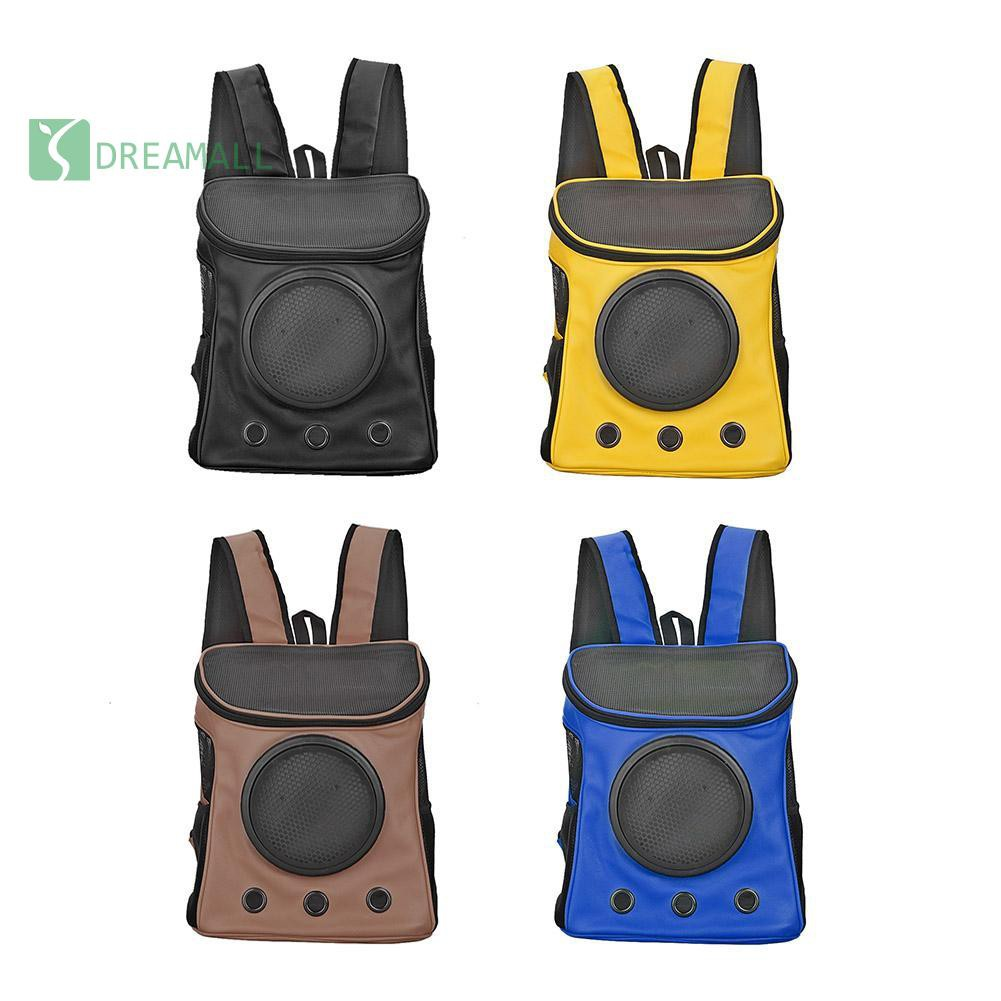 🔥DEMBreathable Pet Carrier Backpack Dog Cat Portable Outdoor Mesh Carrying  Bags✚✚