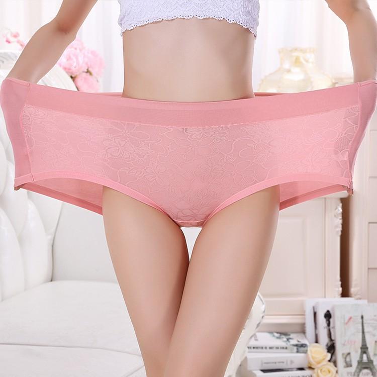 17d687ffbcb30 2Pcs Up to 220lb Super Size Women Briefs Fatty Panties