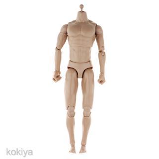 1//6 Seamless Female Body Head Sculpt Model for Phicen Kumik Hot Toys Doll #3