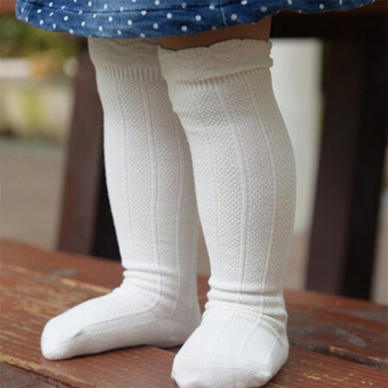 0b5c7891724 ProductImage. ProductImage. WHPH Baby Toddler Girls Cotton Knee High Socks  ...