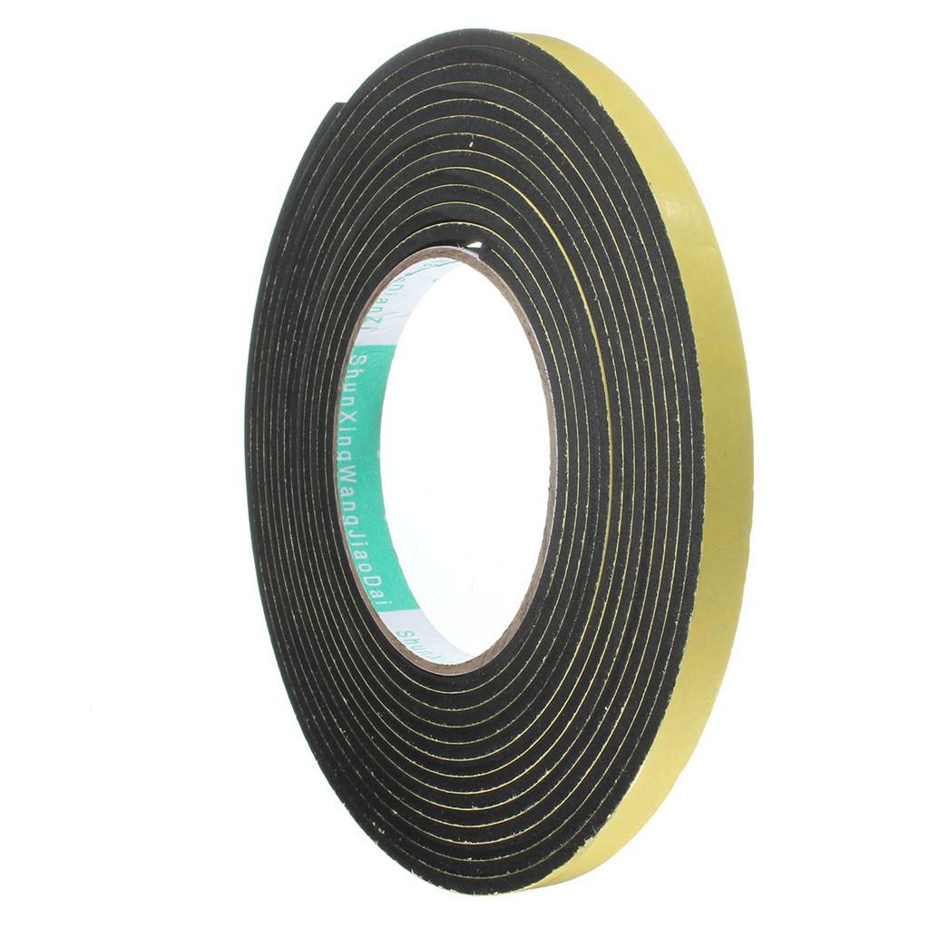 Universal Weather Stripping Sponge Rubber Seal Strip EPDM Tape 4M Door Seal