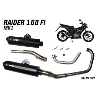 racing line pipe for sniper 150 with silencer | Shopee Philippines