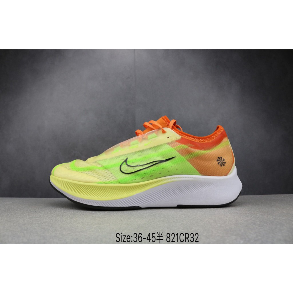 Cerebro Delincuente sexo  Original Nike Zoom Fly 3 Running Shoes Sports Shoes For Men And Women  Orange White | Shopee Philippines