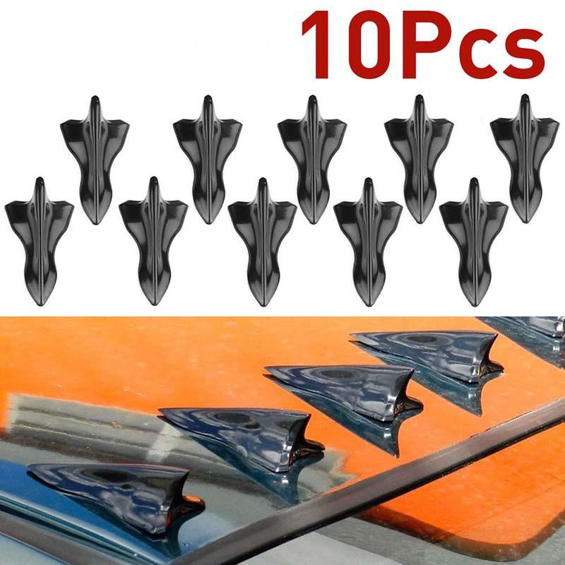 HL🔥10Pcs Gen 2 Shark Fin Diffuser Vortex Generator Roof Spoiler Bumper For Mazda | Shopee Philippines
