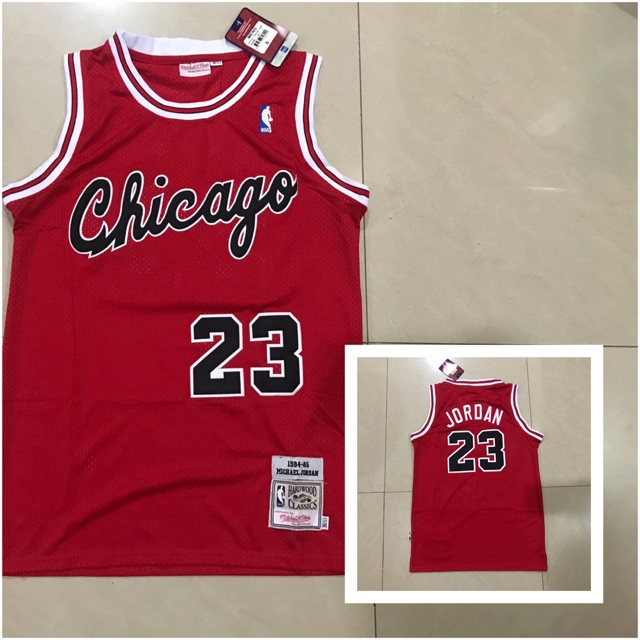 outlet store 4ac6d 75bde Michael jordan chicago 23 red hardwood classic jersey (OEM)