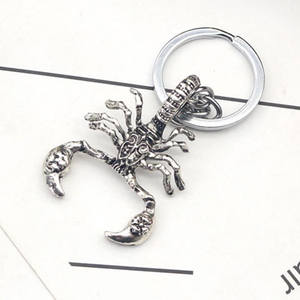 Metal Pendant Insect for Men Key Chain Rings Bag Keyrings
