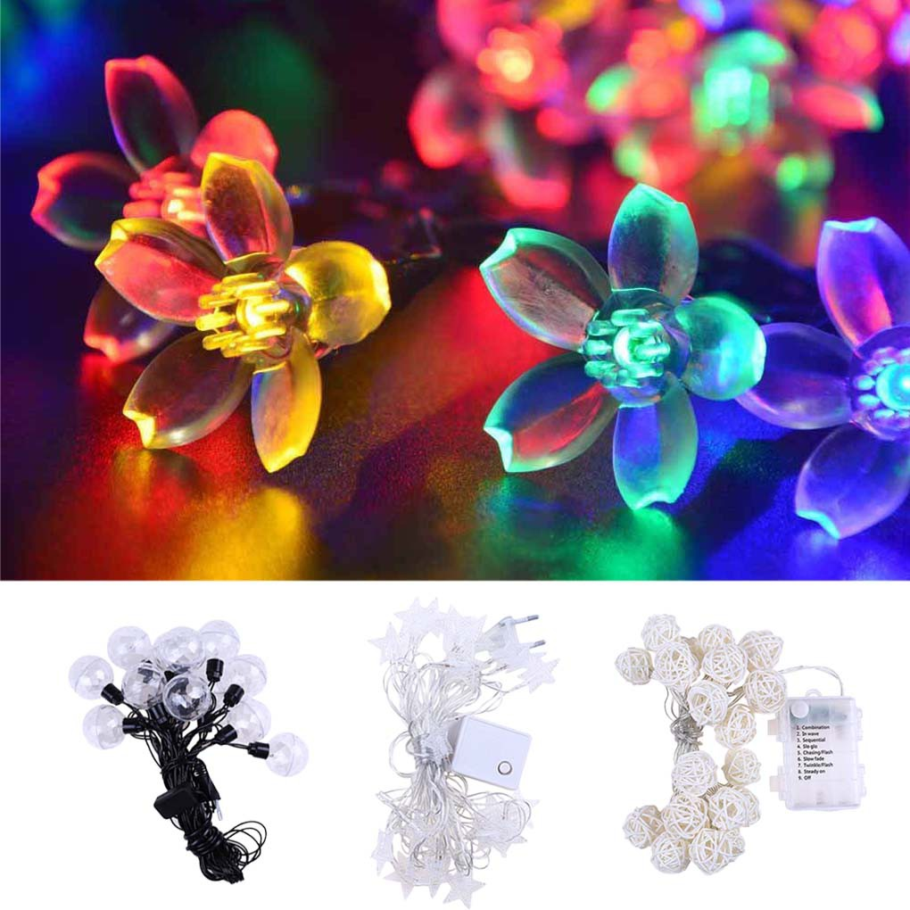 20 LED Halloween Decorations String Lights Pumpkin Lights Battery Operated Halloween Party Decor