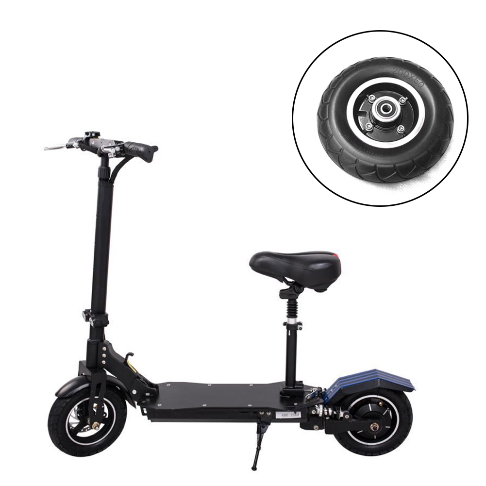 """8/""""x2/"""" 200x50 Pneumatic Inner+Outer Tires Electric Scooter Abrasion Resistant-X"""