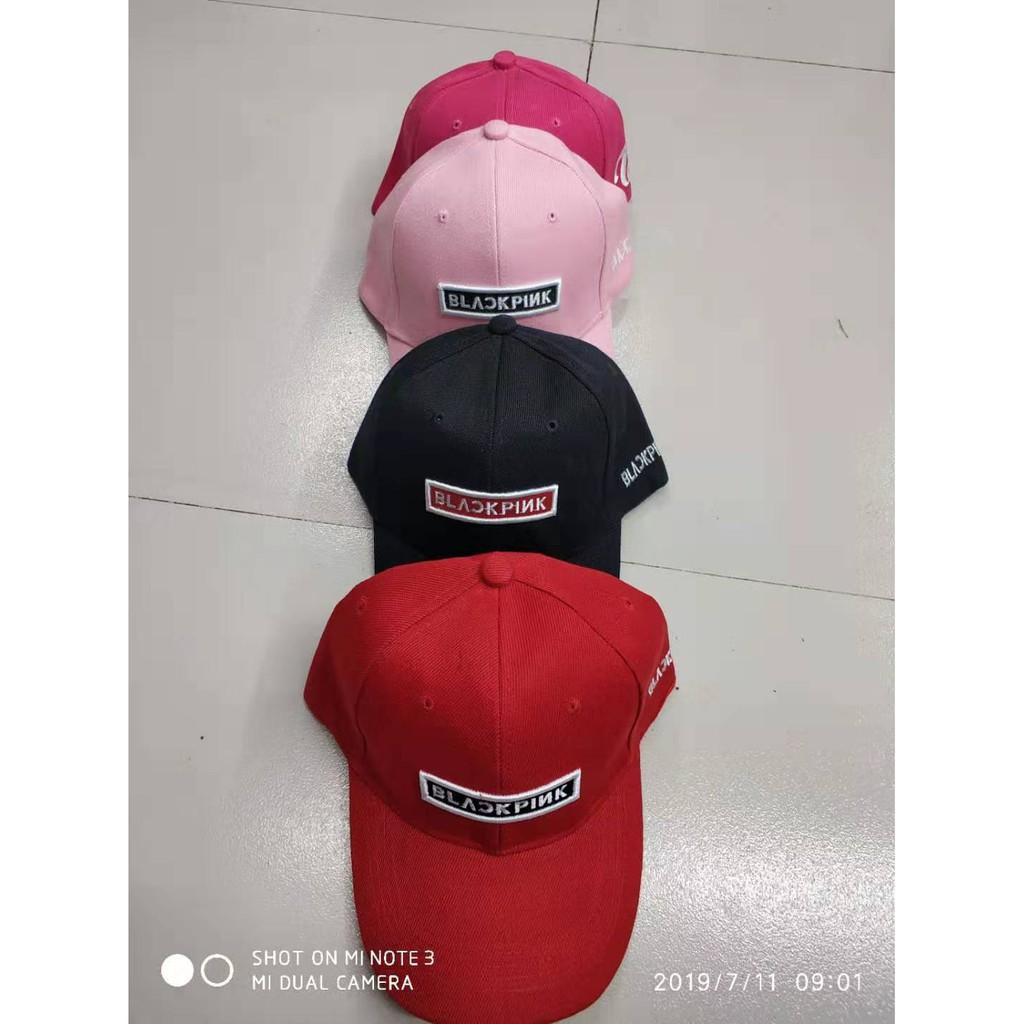 e02be44f2 !COD!BLACKPINK BASEBALL Embroidered CAP