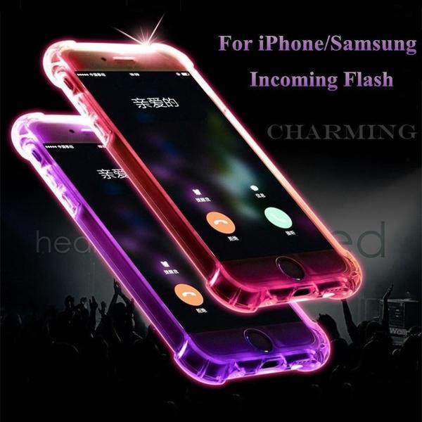 VIVO Y55 Soft TPU LED Flash Light Up Remind Incoming Call