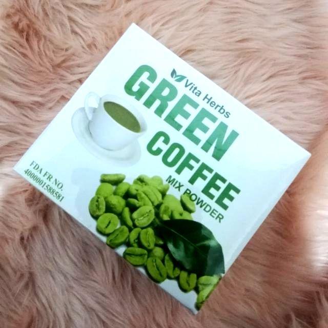 COD! VITA HERBS SLIMMING GREEN COFFEE 10 sachets/ box | Shopee Philippines