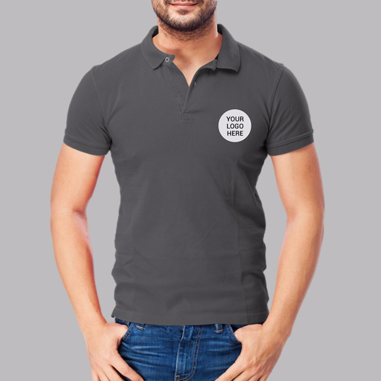 Customized Polo Shirt With Embroidered