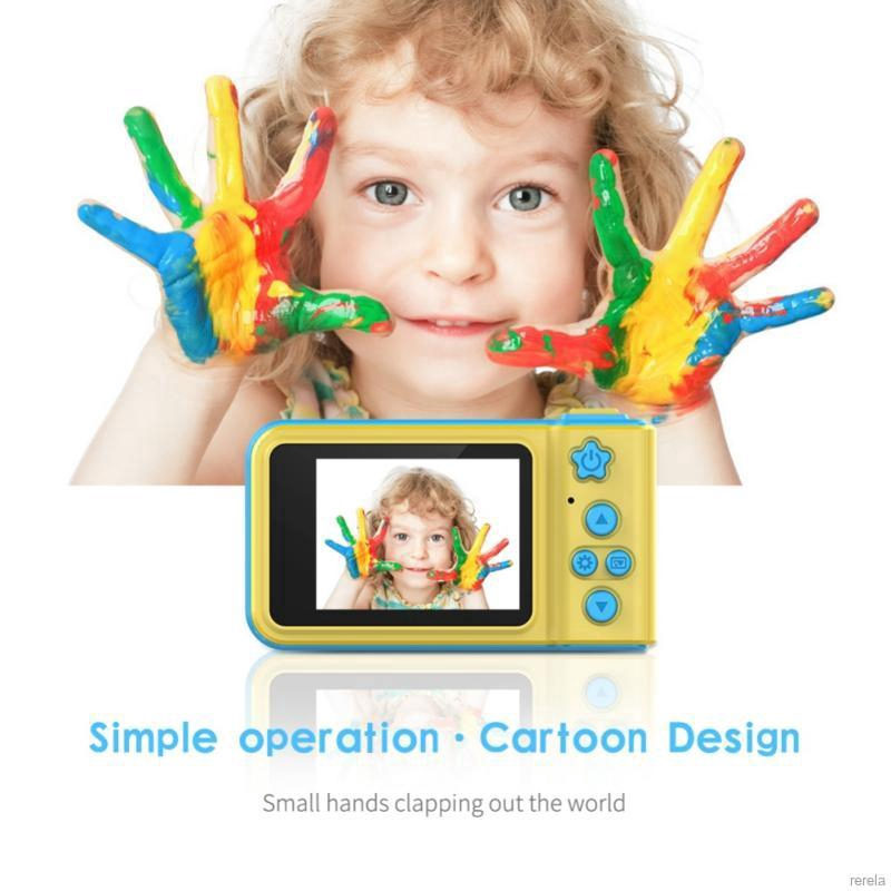 Real Kids Camera(Not Toy) 2 Inch IPS HD Screen (Kids Gift/Birthday Gift  Present)