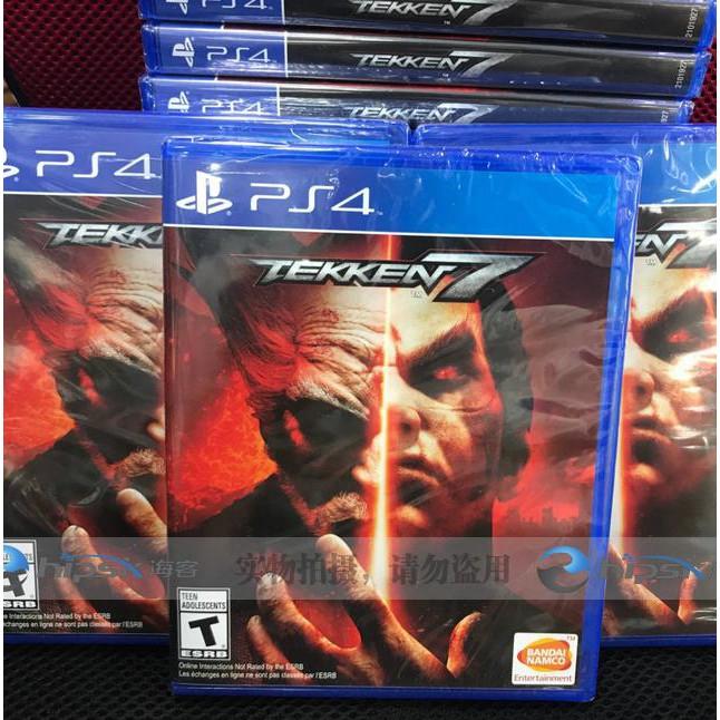 Tekken 7 Regular Edition English Game Plain Edition Ultimate Straight Hair Shopee Philippines