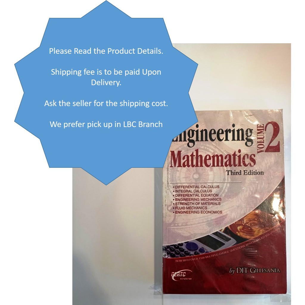 Gillesania - Engineering Mathematics Volume 2