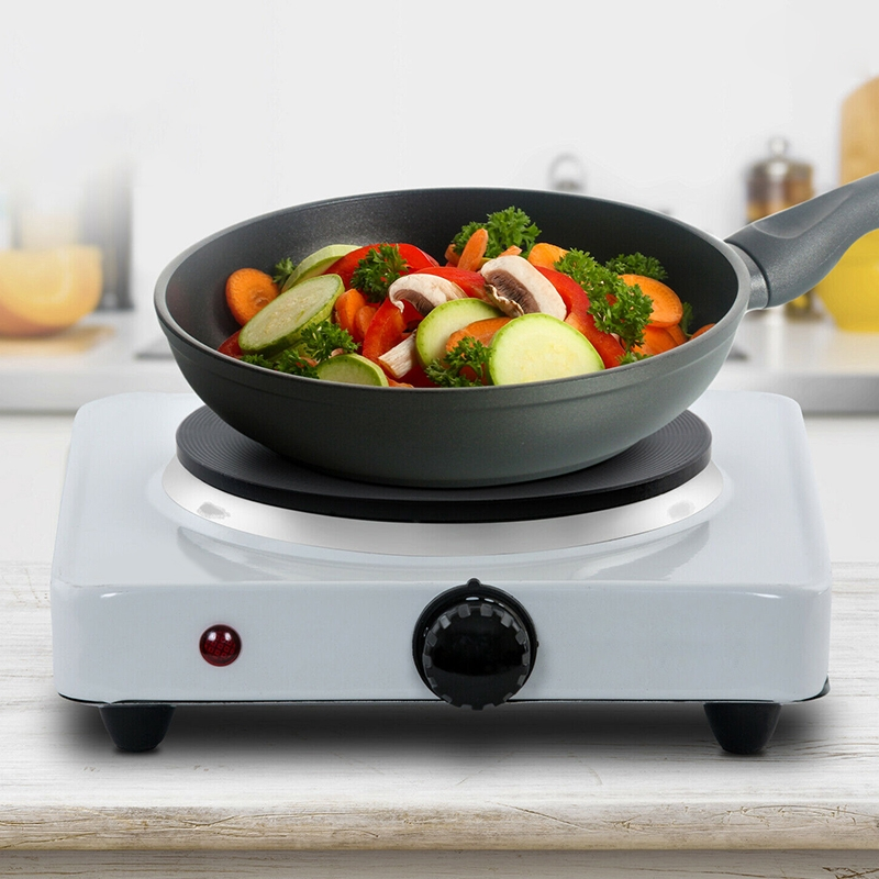 1000w Single Portable Electric Hot Plate Cooking Hob Stove Cooker Boiling Ring