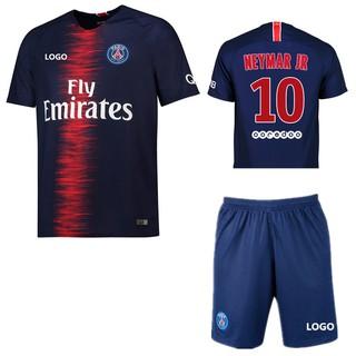 700a65e5dc5 2018-2019 PSG No.10 NEYMAR JR Home Kit Football shirt Soccer jersey ...