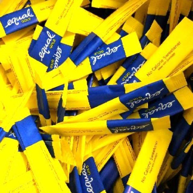 50 PCS EQUAL GOLD SWEETENER KETO KETOGENIC SUCRALOSE | Shopee Philippines