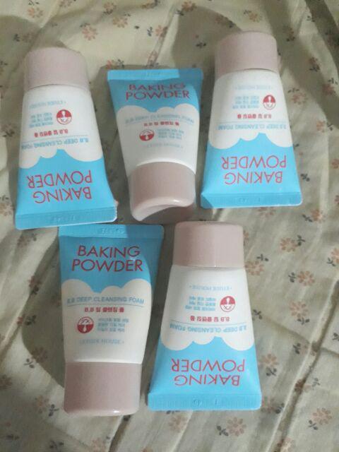 ETUDEHOUSE Baking Powder Pore Cleansing Foam 30ml   Shopee
