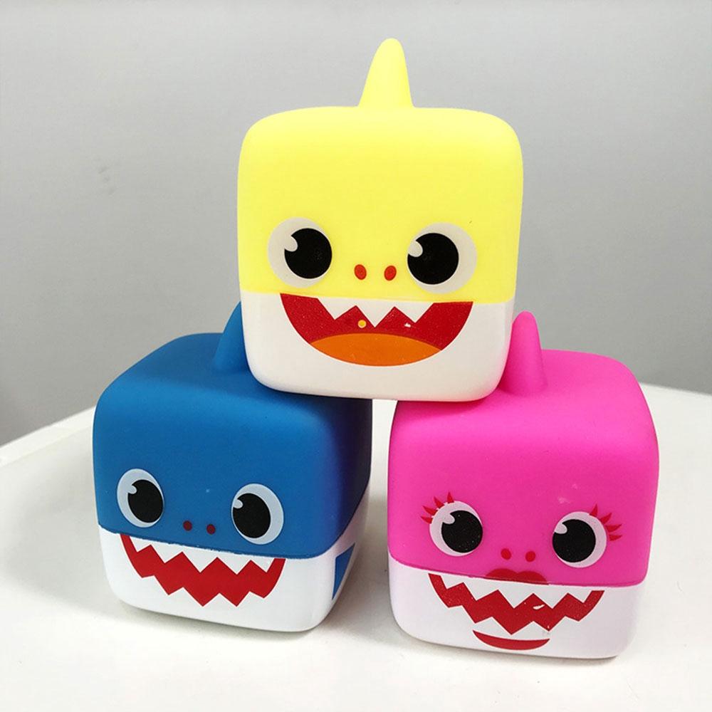 Baby Shark Rubber//Plush Singing Plush Toys Music Doll English Song Toy Kids Gift