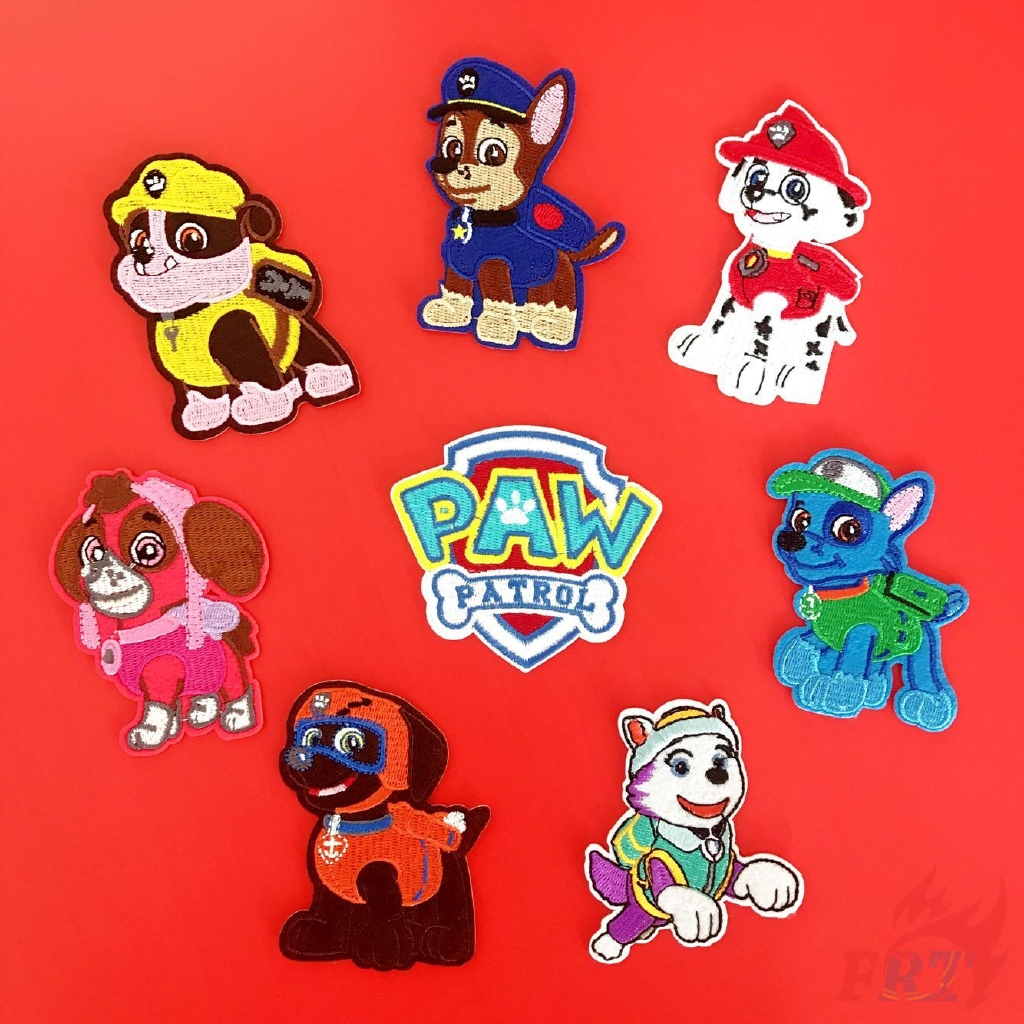 Cool New Paw Patrol Skye IRON-ONS FABRIC APPLIQUES IRON-ONS