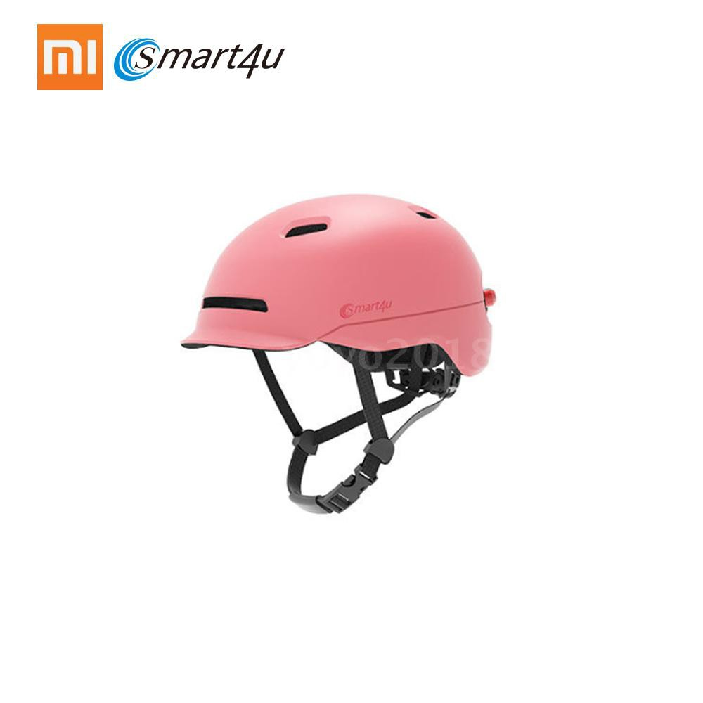 Consumer Electronics Lovely Original Xiaomi Mijia Smart4u Safety Helmet Eps Adjustable Breathable Ventilation Bicycle Bike Hat Head With Flash Led Light Complete In Specifications