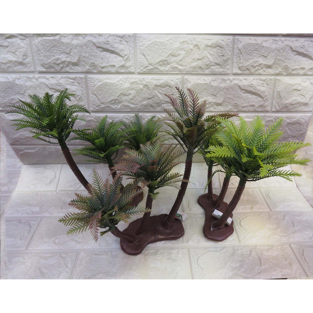 A Delightful Coconut Tree 3 Plastic Anti True Bonsai Craft Shopee Philippines