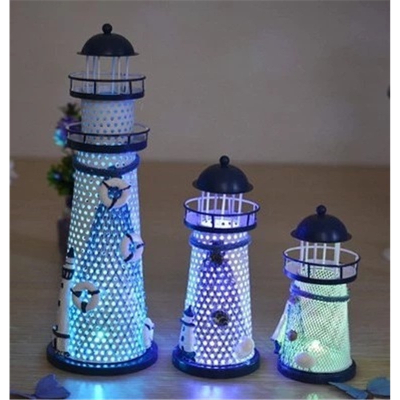 Led Lighthouse Night Light Home Decor