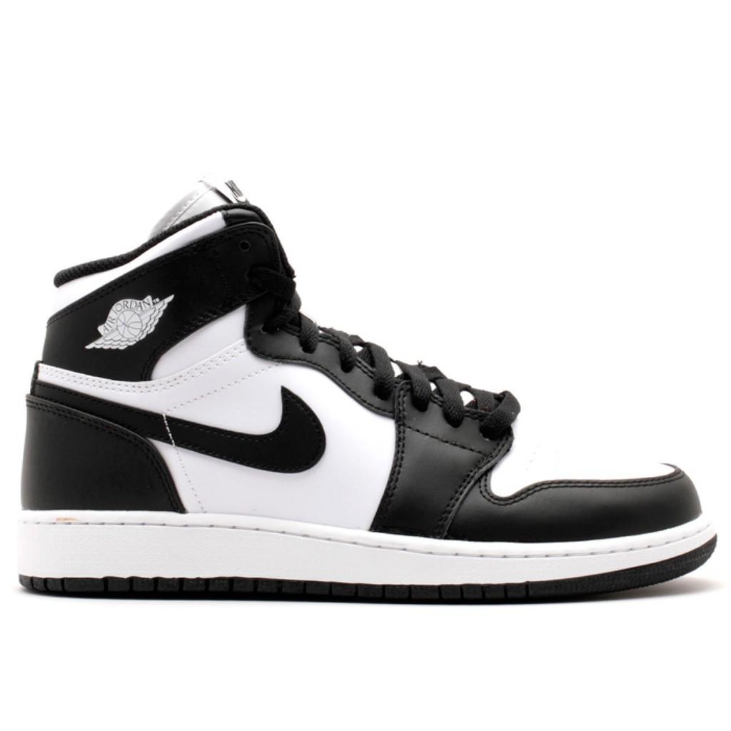 jordan 1 retro high og black white