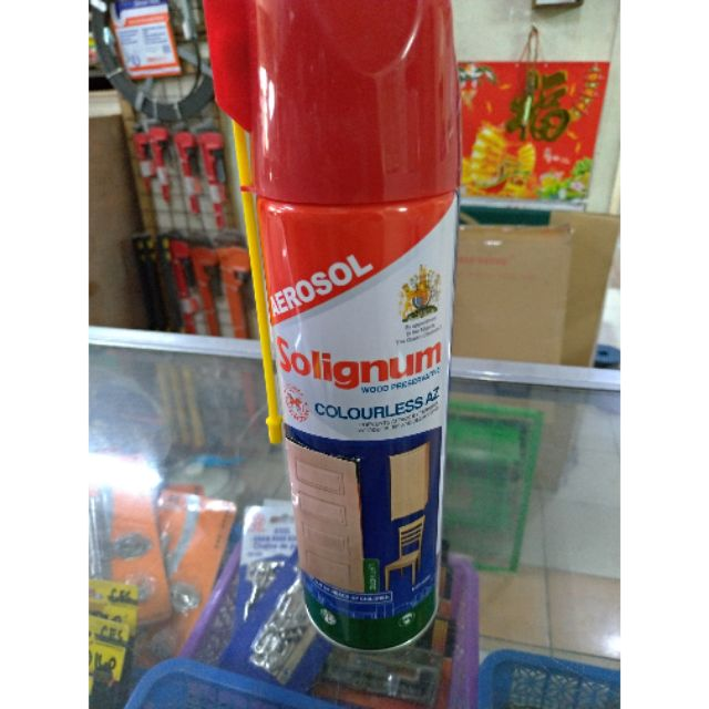 Solignum Anti Anay Termites Wood Preservative Aerosol Spray Can 500ml Shopee Philippines