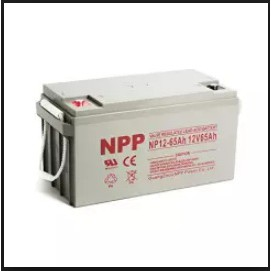 NPP 65AH Deep Cycle Solar Ebike UPS battery
