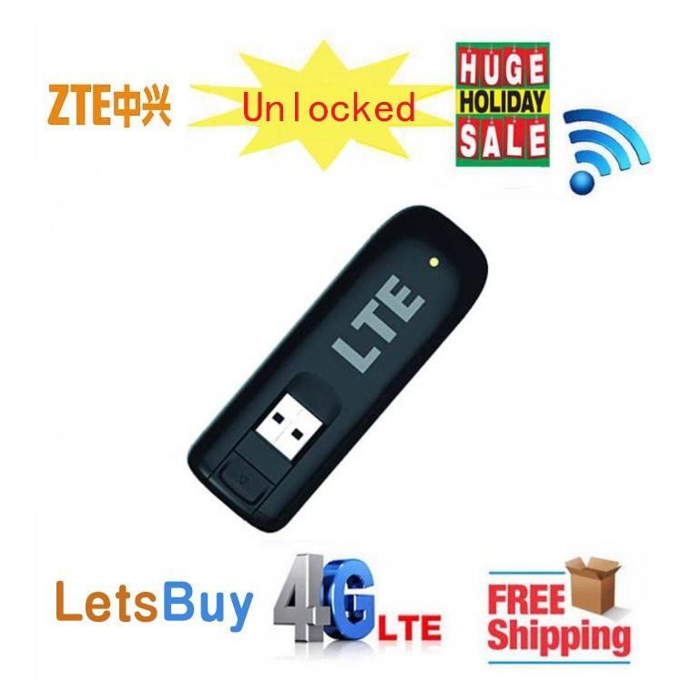 ZTE MF821 4G LTE FDD Modem 100Mbps 4g USB Mobile Broadband Data Card