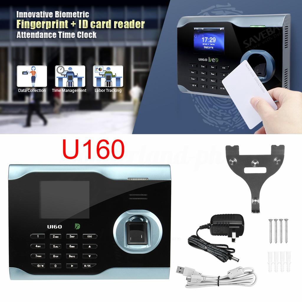 Da Biometric Fingerprint Attendance Clock + ID Card Rea