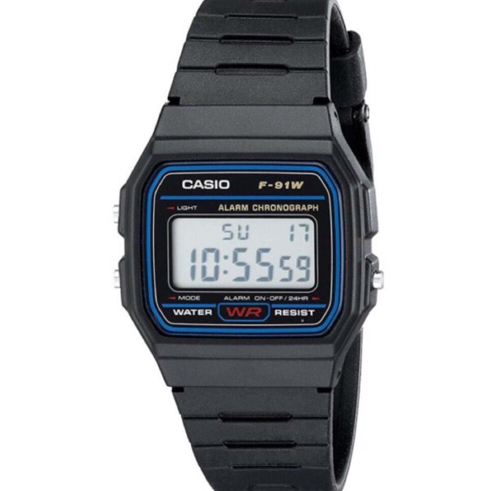 d22e5be1f57 🔥COD Casio F-91W Vintage Multiple Color Rubber Unisex Watch ...